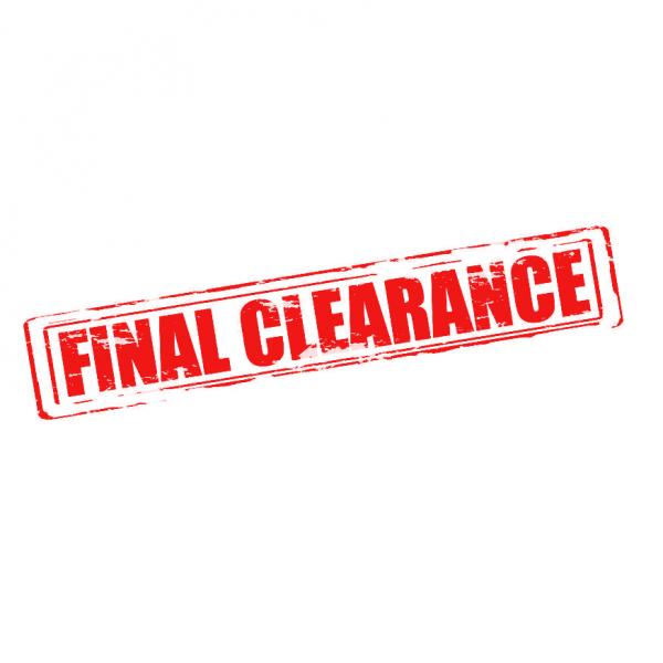 Final Clearance