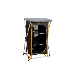 Oztrail Deluxe Folding 3 Shelf Cupboard