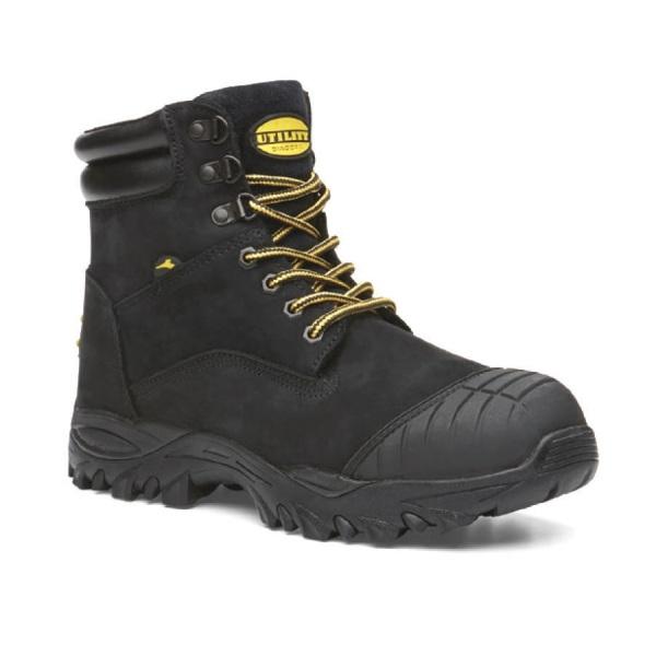 05d0a8fcc0 Diadora Safety Boots Craze Black Zip