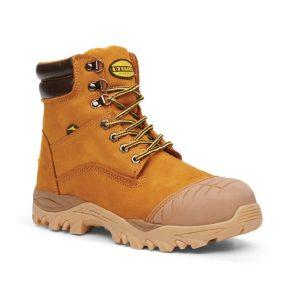 Diadora Safety Boots Craze Wheat Zip