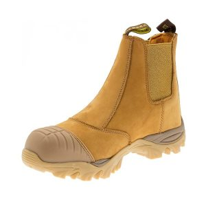 Diadora Safety Boots Craze Wheat Slip On
