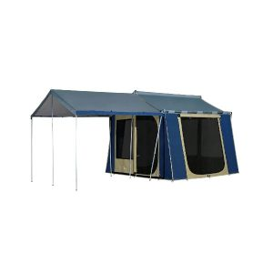 Oztrail Canvas Tent Cabin 10 x 8