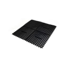 Oztrail Foam Floor Mat 4 Pack Black