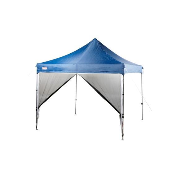 Coleman Deluxe Gazebo Mesh Wall 3x3 Camping Plus Gold