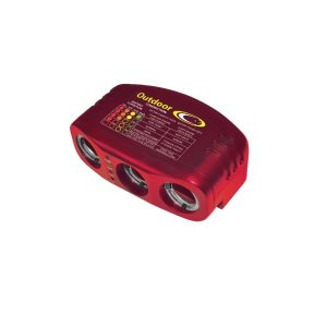 Outdoor Connection Triple 12v Power Outlet
