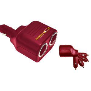 Outdoor Connection Double 12v Power Outlet with USB