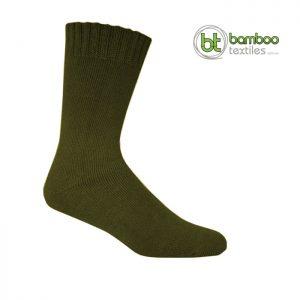 Bamboo Socks Army Green