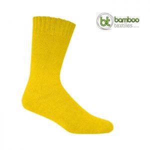 Bamboo Socks Hi-Vis Yellow