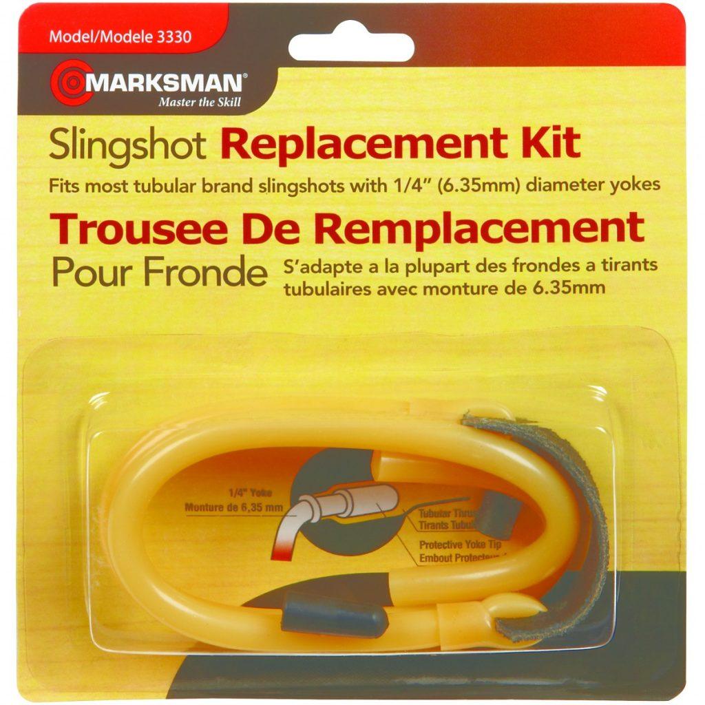 """Marksman Slingshot Replacement Band Kit 1//4/"""" Yoke 3330 NEW"""