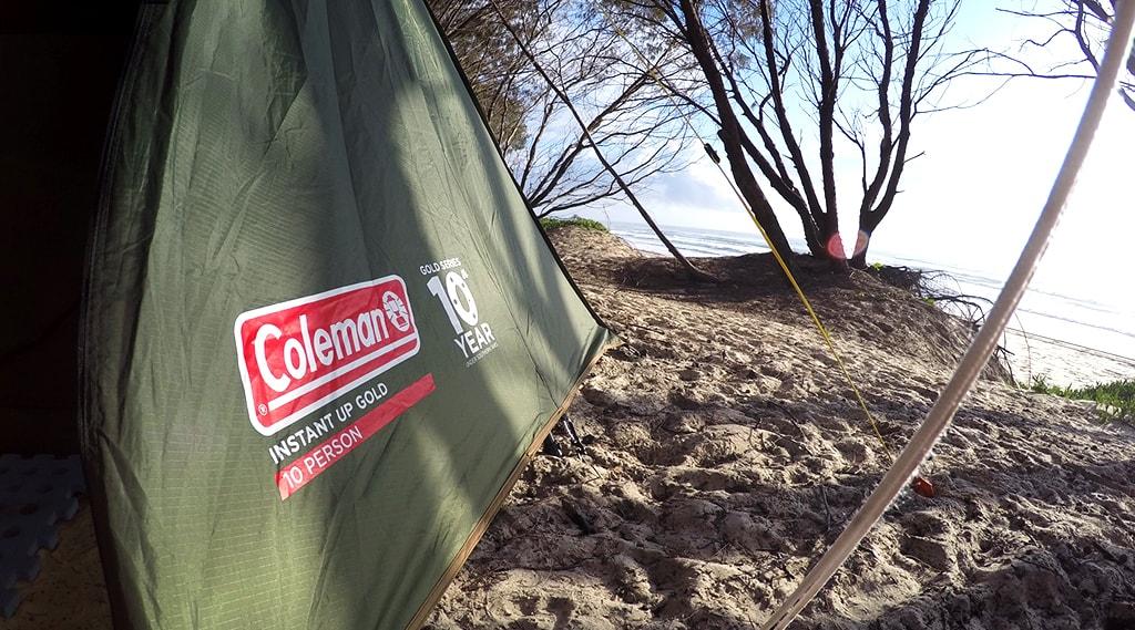 Coleman instant up tent