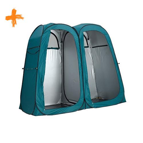 Oztrail double ensuite popup shower tent