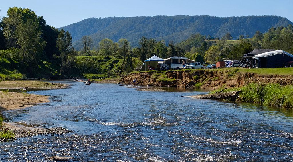Camping Sunshine Coast Hinterland
