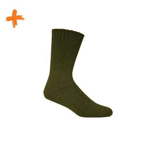 Bamboo Socks Army Green – Extra Thick – 1pk